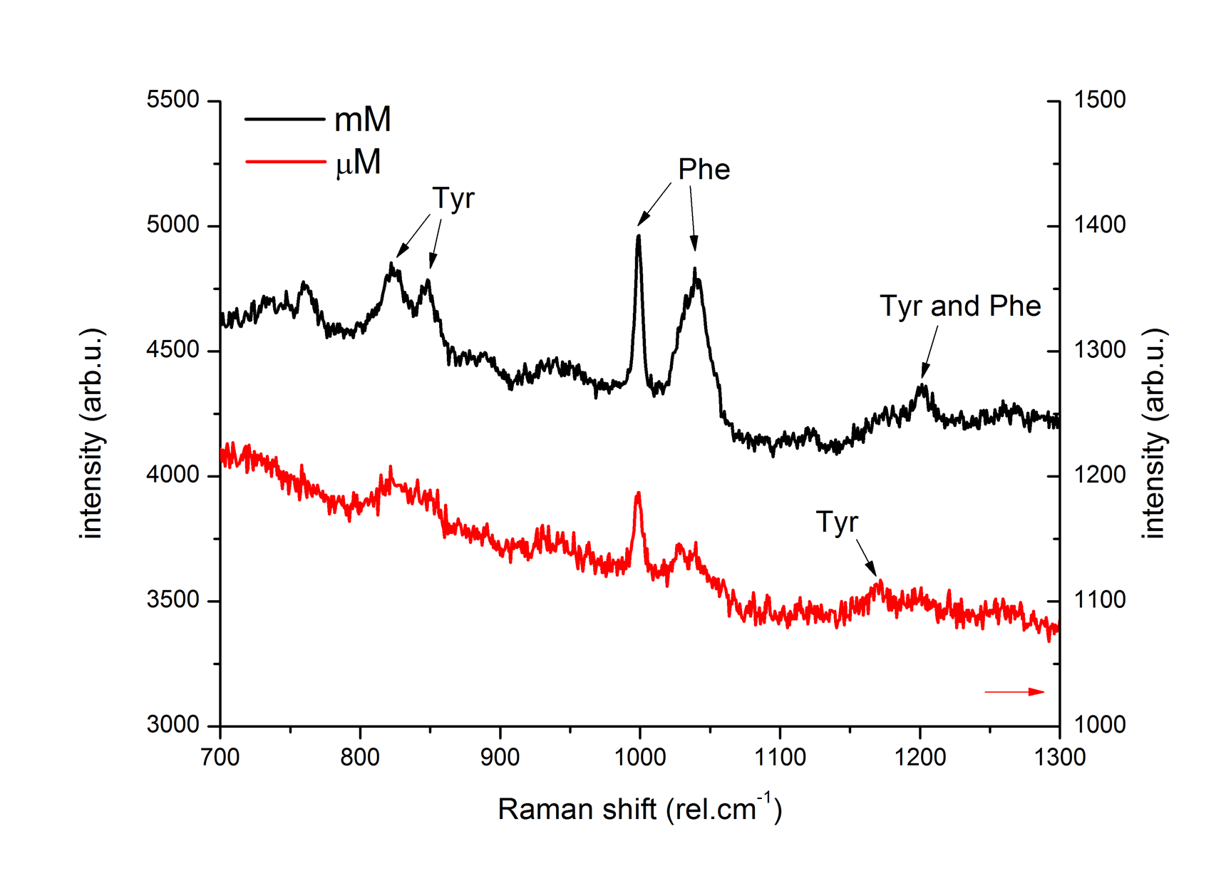 SERS spectra of Insulin on Premium-Silver obtained by Dr. Adriana Annušová